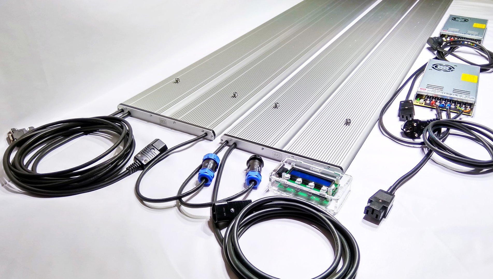 Светильник с 8-ми канальным выносным контроллером RST-tech