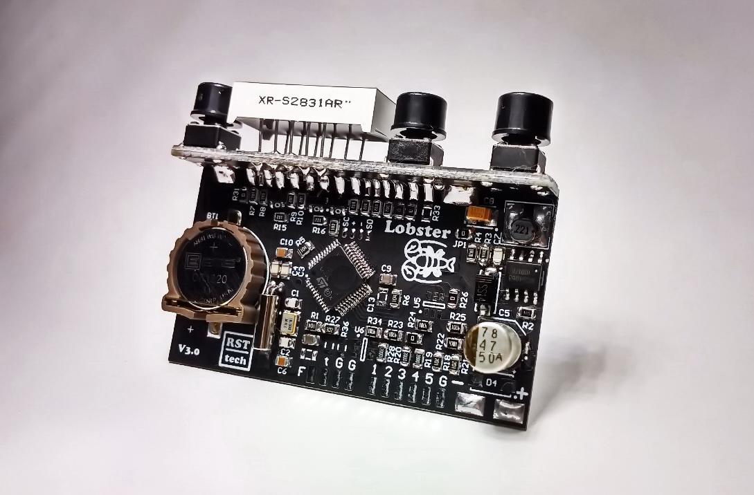 5-ти канальный контроллер Lobster Black Edition